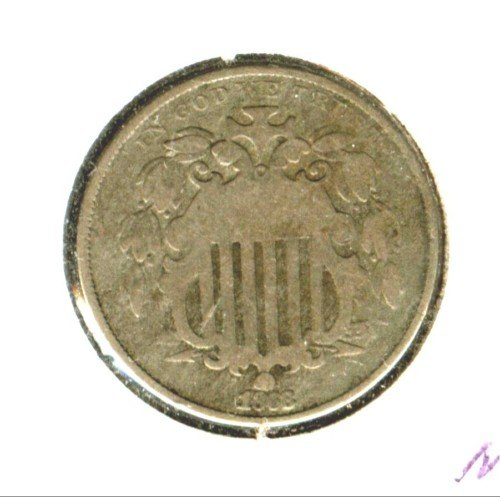 1868 (VG) SHIELD NICKEL (M11)
