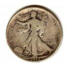 1918D (F) WALKING LIBERTY HALF DOLLAR (EB1455) SILVER