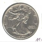 1943 (BU+) WALKING LIBERTY HALF DOLLAR (M11)