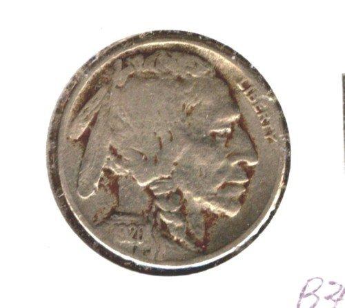 1920S (F+) BUFFALO NICKEL (B34)