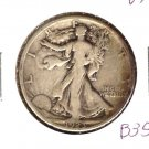1923S (VF+) WALKING LIBERTY HALF DOLLAR (B35)
