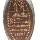 ELONGATED PENNY TOKEN (ETERNAL LIGHT) EB1256