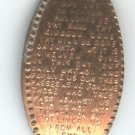 ELONGATED PENNY TOKEN THE LORD'S PRAYER (EB1351)
