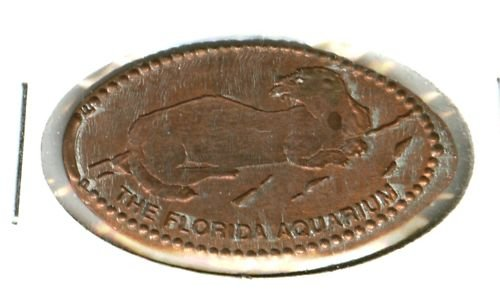 ELONGATED PENNY TOKEN (FLORIDA AQUARIUM) EB1173