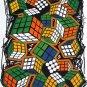 T-shirt  SP14 L Rubik World White Funky Punk Rock Shirt
