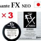 3 Pieces Santen Sante Neo FX Eyedrops