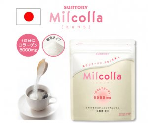 Suntory Milcolla Collagen Powder 105g 15days Japan