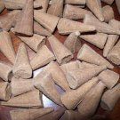 "CINNAMON APPLE  25 pcs Hand Dipped 1"" Incense Cones"
