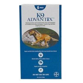 K-9 Advantix Dog  Over 55 lbs.  6 pk.