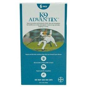 K-9 Advantix Dog  11 to 20 lbs.   4 pk