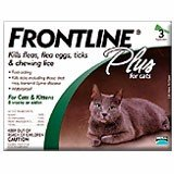 Frontline Plus Cats all sizes  6 Pk