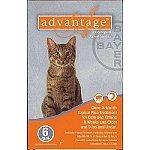 Advantage Cats     6 pk  Under 9 lbs.