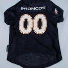 Denver Broncos Dog - Cat - Pet Jersey