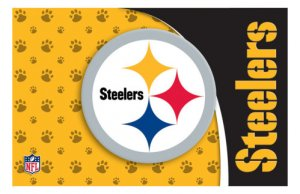 Pittsburgh Steelers Pet Mat