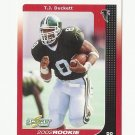 T.J. Duckett 2002 Score Rookie Card #262 Atlanta Falcons