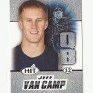 Jeff Van Camp 2011 Sage Hit Silver Rookie #13