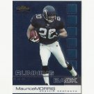 Maurice Morris 2002 Topps Finest Rookie Card #83 Seattle Seahawks