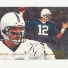 Kerry Collins 1995 Fleer Flair Preview Rookie Card #4 Carolina Panthers