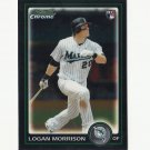 Logan Morrison 2010 Bowman Chrome Rookie Card #BDP64 Miami Marlins