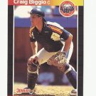 Craig Biggio 1989 Donruss Rookie Card #561 Houston Astros
