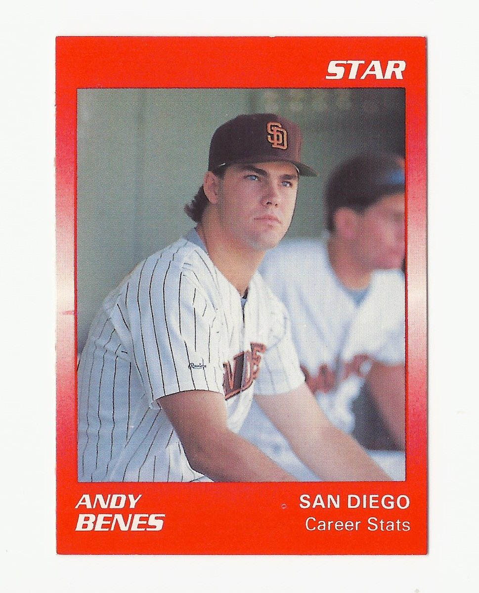 Andy Benes 1989 Star Rookie Card #111 San Diego Padres
