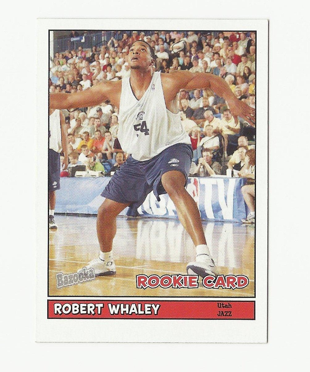 Robert Whaley 2005-06 Bazooka Mini Rookie Card #213 Utah Jazz