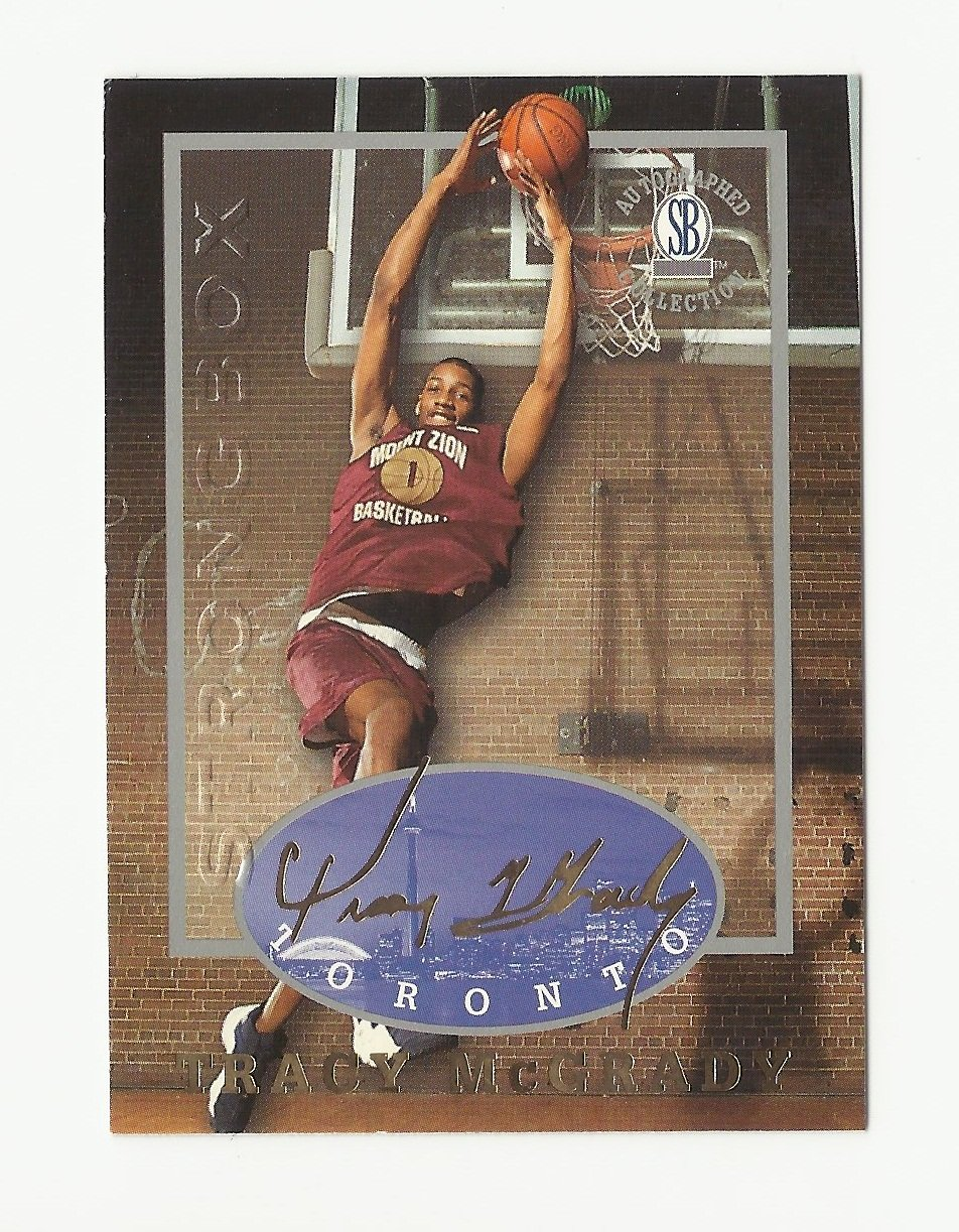 Tracy McGrady 1997 Toronto Strong Box Rookie Card #39 Toronto Raptors