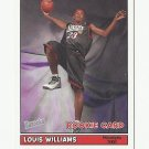 Louis Williams 2005-06 Bazooka Rookie Card #184 Philadelphia 76ers