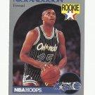 Nick Anderson 1989-90 NBA Hoops Rookie Card #214 Orlando Magic