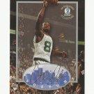 Antoine Walker 1996-97 Boston Strong Box Rookie Card #41 Boston Celtics