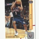 Brandon Armstrong 2002 Upper Deck Rookie Card #333 New Jersey Nets