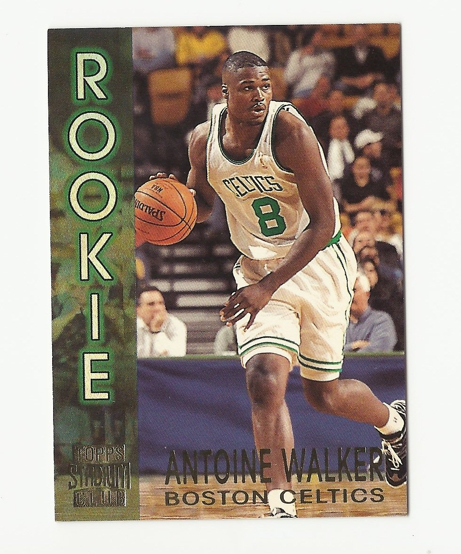 Antoine Walker 1996-97 Topps Stadium Club Rookie Card #R11 Boston Celtics