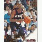 Jermaine O'Neal 1997 Skybox NBA Hoops Rookie Card #306 Portland Trailblazers