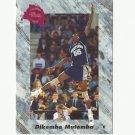 Dikembe Mutombo 1991 Classic Draft Picks Rookie Card #151 Denver Nuggets