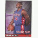 Jason Maxiell 2005 Bazooka Mini Rookie Card #198 Detroit Pistons