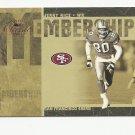 Jerry Rice 2005 Donruss Classics Membership Insert#MS-12 (0420/1000) San Francisco 49ers