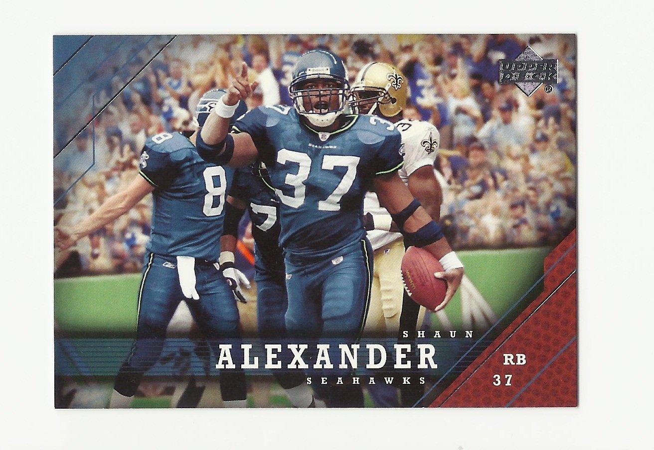 Shaun Alexander 2005 Upper Deck Single Card #164 Seattle Seahawks