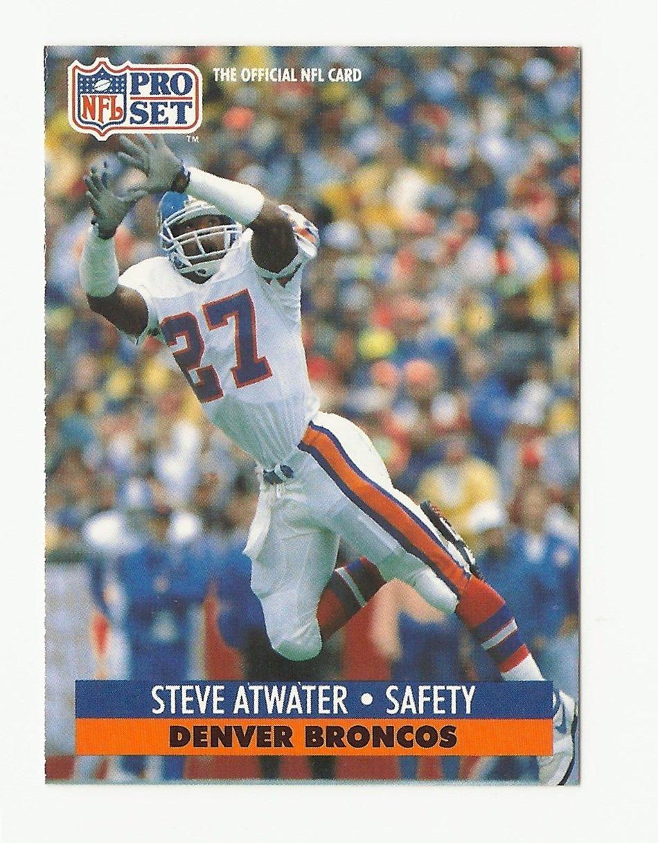 Steve Atwater 1991 Pro Set Single Card #136 Denver Broncos