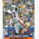 Steve Atwater 1991 Pro Set Single Card #136 Denver Broncos