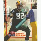 Reggie White 1993 Pro Set Power Moves Single Card #PM 8 Green Bay Packers