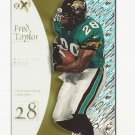 Fred Taylor 1998 Skybox eX-2001 Rookie Card #60 Jacksonville Jaguars
