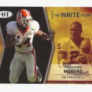 "Knowshon Moreno 2009 Sage HIT ""The Write Stuff"" Rookie Card Insert #17 Denver Broncos/Miami Dolphins"