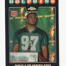 Phillip Merling 2008 Topps Chrome Refractor Rookie Card #TC241 Miami Dolphins/Washington Redskins
