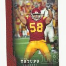 Lofa Tatupu 2005 Upper Deck Star Rookie Card #253 Seattle Seahawks