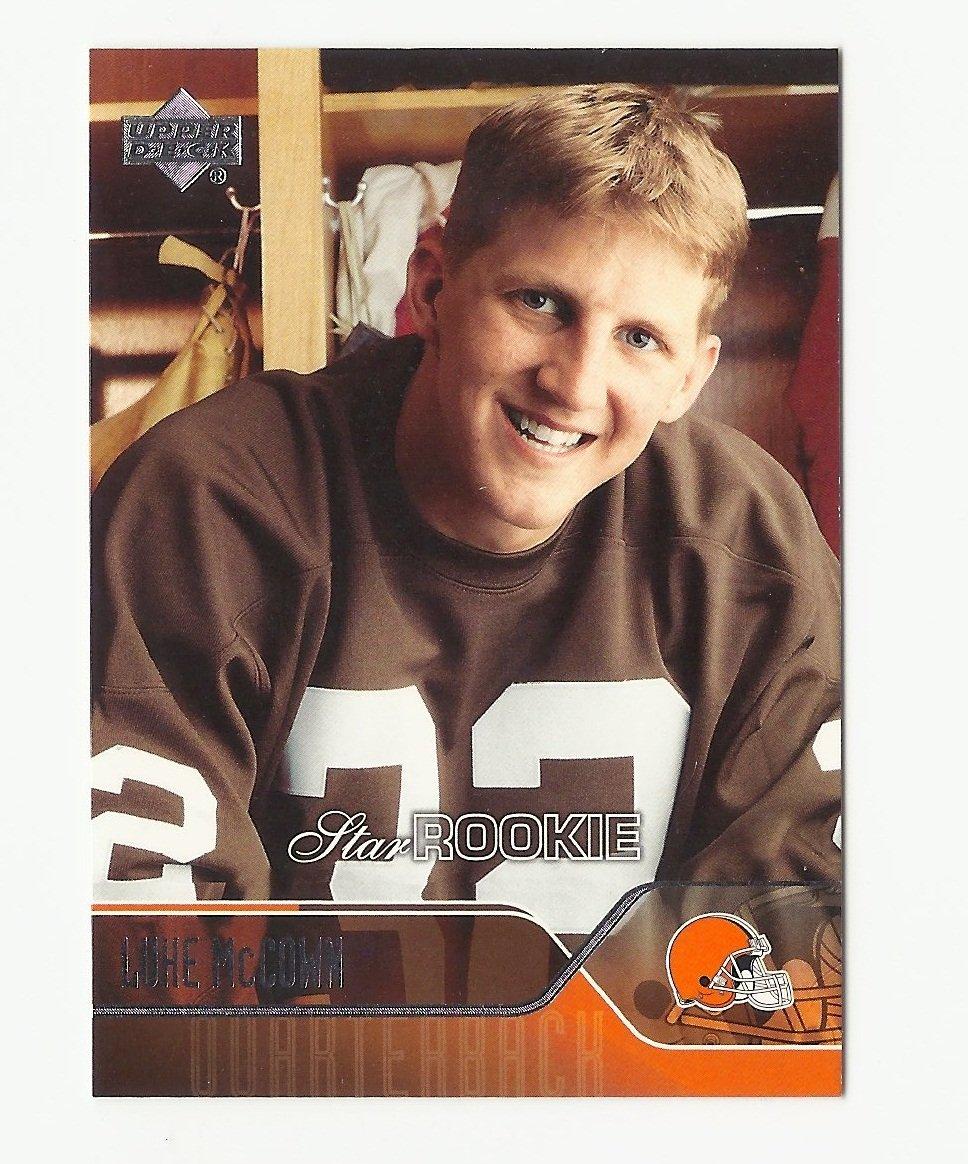Luke McCown 2004 Upper Deck Star Rookie Card #273 Cleveland Browns