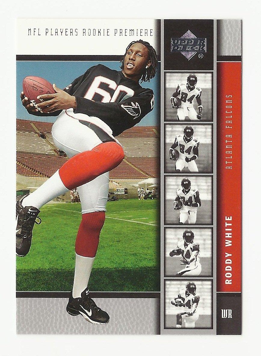 Roddy White 2005 Upper Deck Rookie Premiere Rookie Card #7 Atlanta Falcons