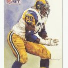 Jackie Slater 1991 Pro Set Single Card #382 St. Louis Rams