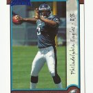 Donovan McNabb 1999 Bowman Rookie Card #168 Philadelphia Eagles