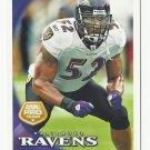 Ray Lewis 2010 Topps All Pro Team #25 Baltimore Ravens