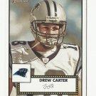 Drew Carter 2006 Topps Heritage Single Card #342 Carolina Panthers